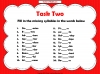 Syllables Teaching Resources (slide 7/10)