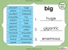 Synonyms - Year 3 and 4 Teaching Resources (slide 11/24)