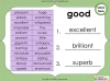 Synonyms - Year 3 and 4 Teaching Resources (slide 12/24)