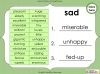 Synonyms - Year 3 and 4 Teaching Resources (slide 13/24)