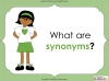 Synonyms - Year 3 and 4 Teaching Resources (slide 4/24)