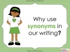 Synonyms - Year 3 and 4 Teaching Resources (slide 6/24)