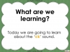 The 'ck' Sound - EYFS Teaching Resources (slide 2/28)