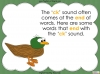 The 'ck' Sound - EYFS Teaching Resources (slide 5/28)