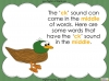 The 'ck' Sound - EYFS Teaching Resources (slide 8/28)
