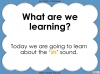 The 'sh' Sound - EYFS Teaching Resources (slide 2/52)