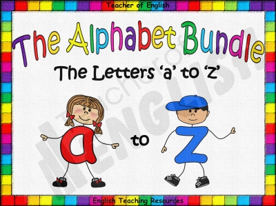 The Alphabet Bundle Teaching Resources