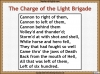 The Charge of the Light Brigade Teaching Resources (slide 13/46)