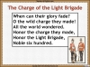 The Charge of the Light Brigade Teaching Resources (slide 14/46)