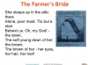 The Farmer's Bride Teaching Resources (slide 12/42)