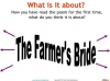 The Farmer's Bride Teaching Resources (slide 13/42)