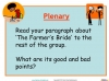 The Farmer's Bride Teaching Resources (slide 37/42)