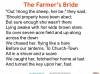 The Farmer's Bride Teaching Resources (slide 9/42)