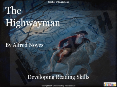 The Highwayman - Free Resource