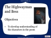 The Highwayman (slide 20/107)