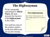 The Highwayman (slide 22/107)