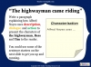 The Highwayman (slide 32/107)