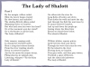 The Lady of Shalott (slide 138/143)