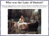 The Lady of Shalott (slide 17/143)