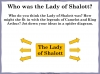 The Lady of Shalott (slide 18/143)