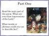 The Lady of Shalott (slide 39/143)