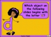 The Letter D Teaching Resources (slide 7/20)