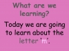 The Letter M Teaching Resources (slide 2/19)