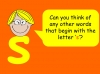 The Letter S Teaching Resources (slide 4/19)