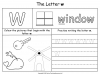 The Letter W Teaching Resources (slide 19/19)