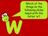 The Letter W Teaching Resources (slide 7/19)