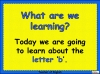 The Letter b Teaching Resources (slide 2/20)