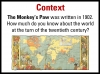 The Monkey's Paw Teaching Resources (slide 7/78)