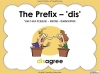 The Prefix 'dis' - Year 3 and 4 Teaching Resources (slide 1/34)