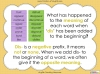 The Prefix 'dis' - Year 3 and 4 Teaching Resources (slide 10/34)