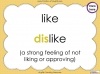 The Prefix 'dis' - Year 3 and 4 Teaching Resources (slide 16/34)