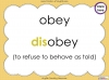The Prefix 'dis' - Year 3 and 4 Teaching Resources (slide 17/34)