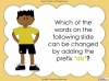 The Prefix 'dis' - Year 3 and 4 Teaching Resources (slide 19/34)