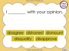 The Prefix 'dis' - Year 3 and 4 Teaching Resources (slide 26/34)