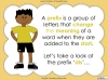 The Prefix 'dis' - Year 3 and 4 Teaching Resources (slide 6/34)