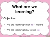 The Prefix 're-' - Year 3 and 4 Teaching Resources (slide 2/24)