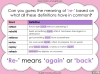 The Prefix 're-' - Year 3 and 4 Teaching Resources (slide 8/24)