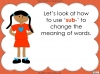 The Prefix 'sub-' - Year 3 and 4 Teaching Resources (slide 9/24)