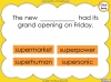The Prefix 'super-' - Year 3 and 4 Teaching Resources (slide 16/23)