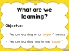 The Prefix 'super-' - Year 3 and 4 Teaching Resources (slide 2/23)