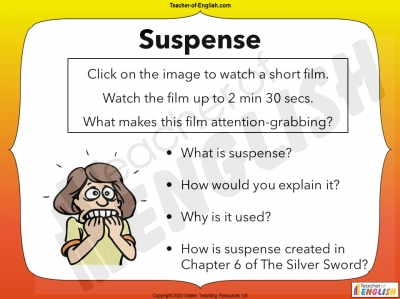 The Silver Sword - free powerpoint teaching resource