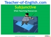 The Subjunctive (slide 1/13)