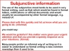 The Subjunctive (slide 4/13)