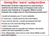 The Subjunctive (slide 6/13)