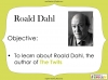 The Twits by Roald Dahl Teaching Resources (slide 7/88)