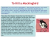 To Kill a Mockingbird (KS3) Teaching Resources (slide 111/229)